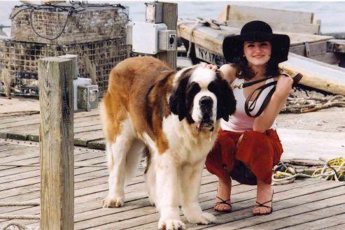 girl-withdog
